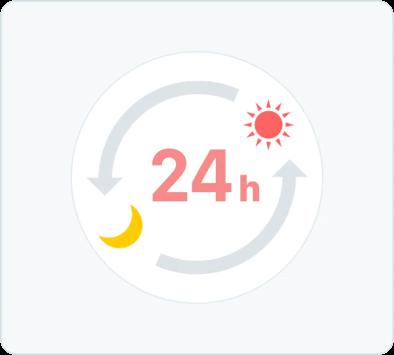 オンライン診療「クリニクス」24時間いつでも予約可能